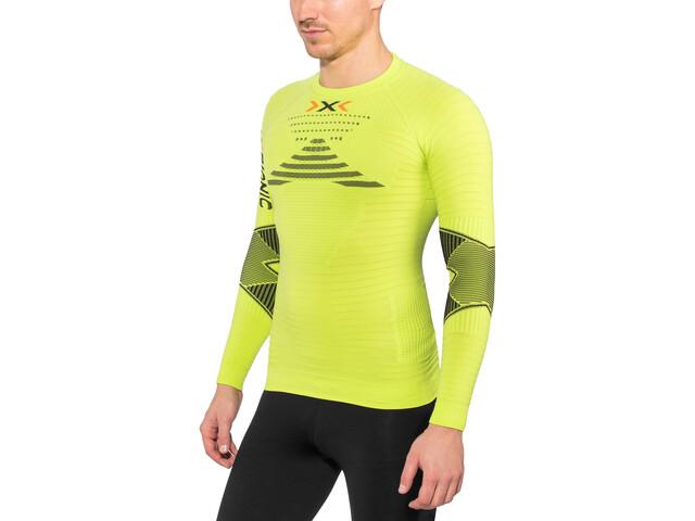 X-Bionic Running Effektor Power OW T-shirt à manches longues Homme, green lime/black